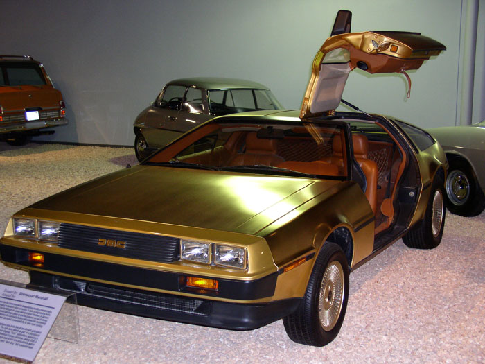 24 Karat Gold Plated Delorean DMC-12