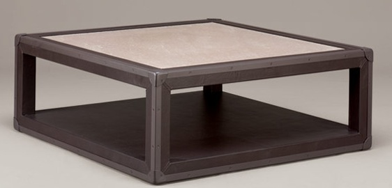 The Ebano Coffee Table Is Designed To Look Like A Trunk. The Coffee Table  Has A Limestone Top ...