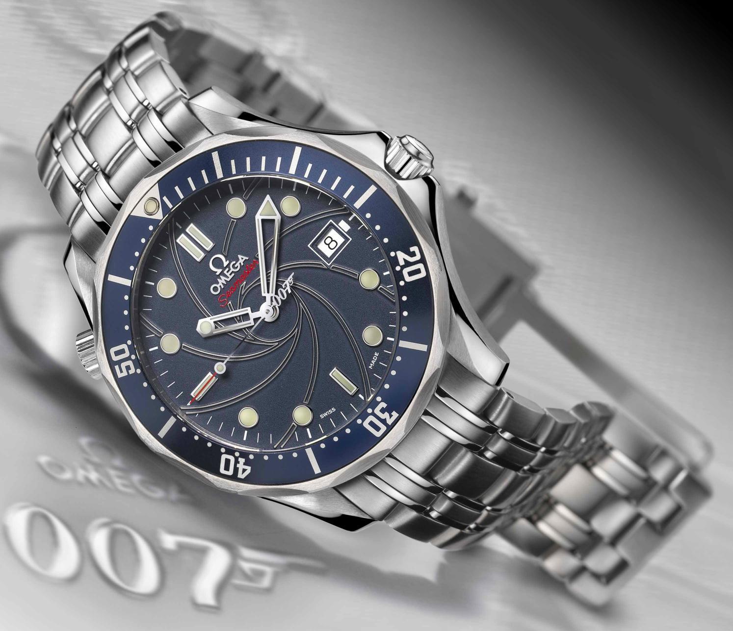 Omega Creates Seamaster James Bond Limited Edition Watch
