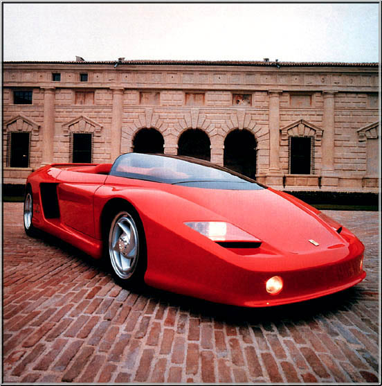 Ferrari Mythos Concept Super Car
