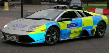 Lamborghini on London Police Receive Lamborghini Murci  Lago Lp640     Sybarites