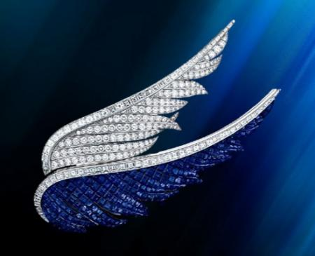 Van Cleef & Arpels Wings Clip at  Sybarites