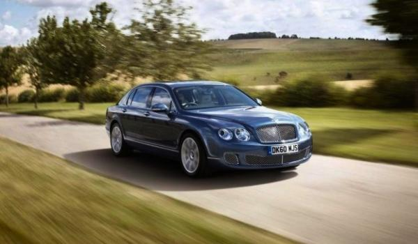 Bentley Continental Flying Spur Series 51. The Bentley Continental Flying