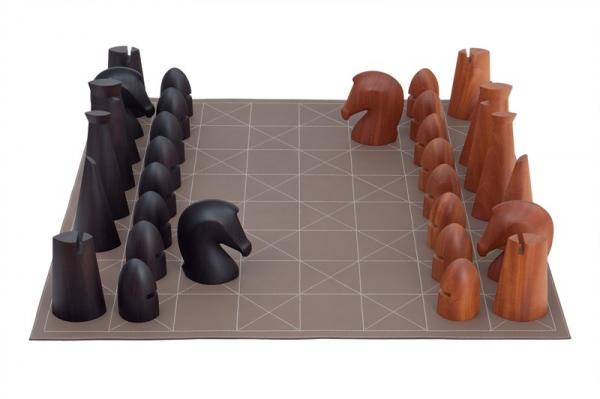Contemporary Chess Set hermès chess set – sybarites